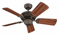 Monte Carlo Fans 5DS34RB Designer Supreme III Roman Bronze 34 Inch Wide Home Ceiling Fan