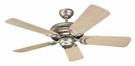 Monte Carlo Fans 5DS44BP Designer Supreme II Brushed Pewter 44 Inch Wide Home Ceiling Fan