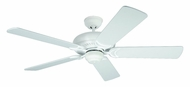 Monte Carlo Fans 5DS52TW Designer Supreme Textured White 52 Inch Wide Home Ceiling Fan