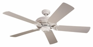 Monte Carlo Fans 5DS52WH Designer Supreme White 52 Inch Wide Ceiling Fan