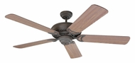 Monte Carlo Fans 5DS52WI Designer Supreme Weathered Iron 52 Inch Wide Home Ceiling Fan
