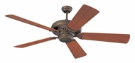 Monte Carlo Fans 5GP60RB Grand Prix Roman Bronze 60 Inch Wide Home Ceiling Fan