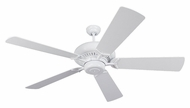 Monte Carlo Fans 5GP60WH Grand Prix White 60 Inch Wide Ceiling Fan