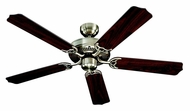 Monte Carlo Fans 5HM52AB Homeowner Max Antique Brass 52 Inch Wide Home Ceiling Fan