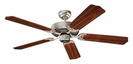 Monte Carlo Fans 5HM52BP Homeowner Max Brushed Pewter 52 Inch Wide Ceiling Fan