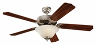 Monte Carlo Fans 5HM52BPD Homeowner Max Plus Brushed Pewter 52 Inch Wide Home Ceiling Fan