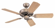 Monte Carlo Fans 5HS42BP Homeowner's Select II Brushed Pewter 42 Inch Wide Home Ceiling Fan
