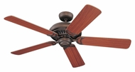 Monte Carlo Fans 5LCR52RB Light Cast Roman Bronze 52 Inch Wide Ceiling Fan