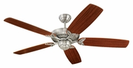 Monte Carlo Fans 5MS52EP Mansion English Pewter 52 Inch Wide Traditional Home Ceiling Fan
