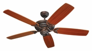 Monte Carlo Fans 5MS52RB Mansion Roman Bronze 52 Inch Wide Traditional Ceiling Fan