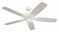Monte Carlo Fans 5MS52TW Mansion Textured White 52 Inch Wide Traditional Ceiling Fan