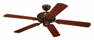 Monte Carlo Fans 5OR52TB Ornate Tuscan Bronze 52 Inch Wide Traditional Home Ceiling Fan