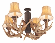 Monte Carlo Fans MC116WI-L Great Lodge Antler Weathered Iron Light Kit