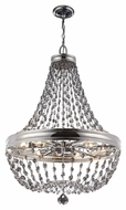 Murray Feiss F2914-12PN Malia Polished Nickel Finish 48.25  Tall Lighting Chandelier