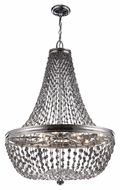 Murray Feiss F2915-9PN Malia Polished Nickel Finish 25  Wide Chandelier Lamp