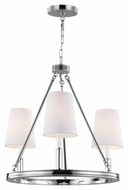 Murray Feiss F2921-3PN Lismore Polished Nickel Finish 21  Tall Mini Chandelier Lighting