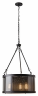 Murray Feiss F2929-3ORB Bluffton Oil Rubbed Bronze Finish 20  Wide Mini Chandelier Lighting