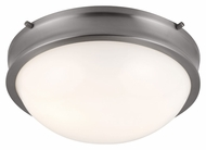 Feiss FM379BS Turner Brushed Steel Finish 4.625  Tall Ceiling Lighting