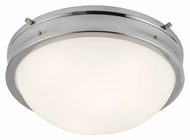 Feiss FM379PN Turner Polished Nickel Finish 4.625  Tall Ceiling Light Fixture