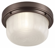 Murray Feiss FM380CLT Elliot Chocolate Finish 11.25  Wide Flush Lighting