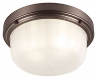 Murray Feiss FM381CLT Elliot Chocolate Finish 13.25  Wide Overhead Lighting