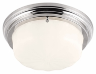 Feiss FM383PN Portia Polished Nickel Finish 5  Tall Home Ceiling Lighting