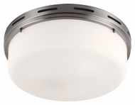 Murray Feiss FM384BS Manning Brushed Steel Finish 5.375  Tall Overhead Lighting Fixture
