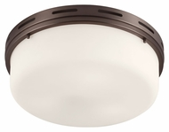 Feiss FM384CLT Manning Chocolate Finish 16.5  Wide Ceiling Lighting