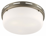 Feiss FM384SBZ Manning Satin Bronze Finish 16.5  Wide Ceiling Light Fixture