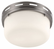 Feiss FM385BS Manning Brushed Steel Finish 5.375  Tall Ceiling Lighting Fixture