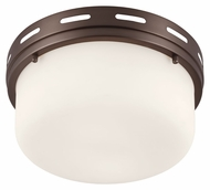 Murray Feiss FM385CLT Manning Chocolate Finish 11.25  Wide Ceiling Light Fixture