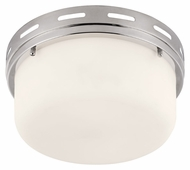 Feiss FM385PN Manning Polished Nickel Finish 5.375  Tall Flush Lighting