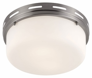 Feiss FM386BS Manning Brushed Steel Finish 5.375  Tall Overhead Lighting