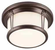 Murray Feiss FM387CLT Woodward Chocolate Finish 11.25  Wide Home Ceiling Lighting