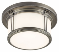 Feiss FM387SBZ Woodward Satin Bronze Finish 11.25  Wide Overhead Lighting Fixture