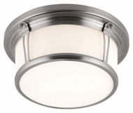 Feiss FM388BS Woodward Brushed Steel Finish 5.375  Tall Ceiling Lighting