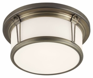 Murray Feiss FM388SBZ Woodward Satin Bronze Finish 13.25  Wide Ceiling Lighting Fixture