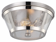 Feiss FM393PN Harrow Polished Nickel Finish 6.5  Tall Home Ceiling Lighting