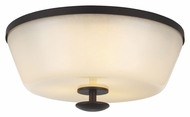 Feiss FM395ORB Huntley Oil Rubbed Bronze Finish 6.375  Tall Overhead Lighting Fixture