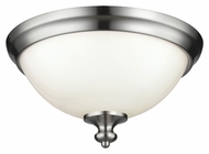 Murray Feiss FM397BS Parkman Brushed Steel Finish 6.75  Tall Ceiling Light