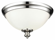Feiss FM397PN Parkman Polished Nickel Finish 6.75  Tall Ceiling Lighting Fixture