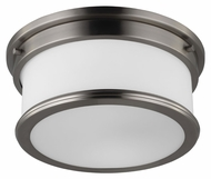 Murray Feiss FM399BS Payne Brushed Steel Finish 5.625  Tall Flush Lighting