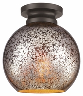 Murray Feiss FM407ORB Tabby Modern Oil Rubbed Bronze Finish 9.25  Tall Flush Mount Lighting