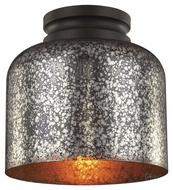 Feiss FM408ORB Hounslow Contemporary Oil Rubbed Bronze Finish 9  Wide Flush Mount Lighting Fixture