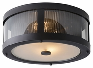 Murray Feiss OL12013ORB Bluffton Oil Rubbed Bronze Finish 13.25  Wide Outdoor Ceiling Lighting