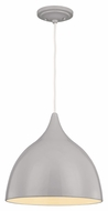 Feiss P1298SLB Dutch Contemporary Silver Birch Finish 13.25  Tall Pendant Light Fixture