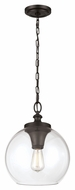 Murray Feiss P1307ORB Tabby Retro Oil Rubbed Bronze Finish 15.875  Tall Drop Lighting