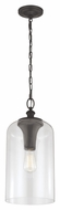 Murray Feiss P1309ORB Hounslow Retro Oil Rubbed Bronze Finish 19.875  Tall Mini Pendant Lighting