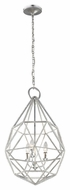 Murray Feiss P1312SLV Marquise Contemporary Silver Finish 17.625  Wide Pendant Lighting Fixture