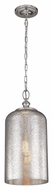Murray Feiss P1319PN Hounslow Vintage Polished Nickel Finish 19.875  Tall Mini Pendant Light Fixture